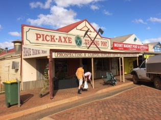 Red-neck shop in Mount Magnet