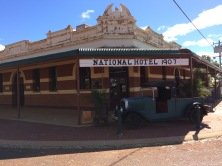 The hotel in Sandstone