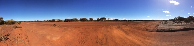 T-junction in the outback