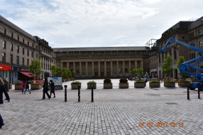 Caird Hall the next morning